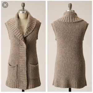 Chunky Anthropologie Sweater Vest